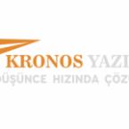 Kronos yazılım logo tasarımı