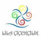 Lila çiçekçilik logo tasarımı