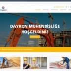 Daykon Mühendislik Web Sitesi